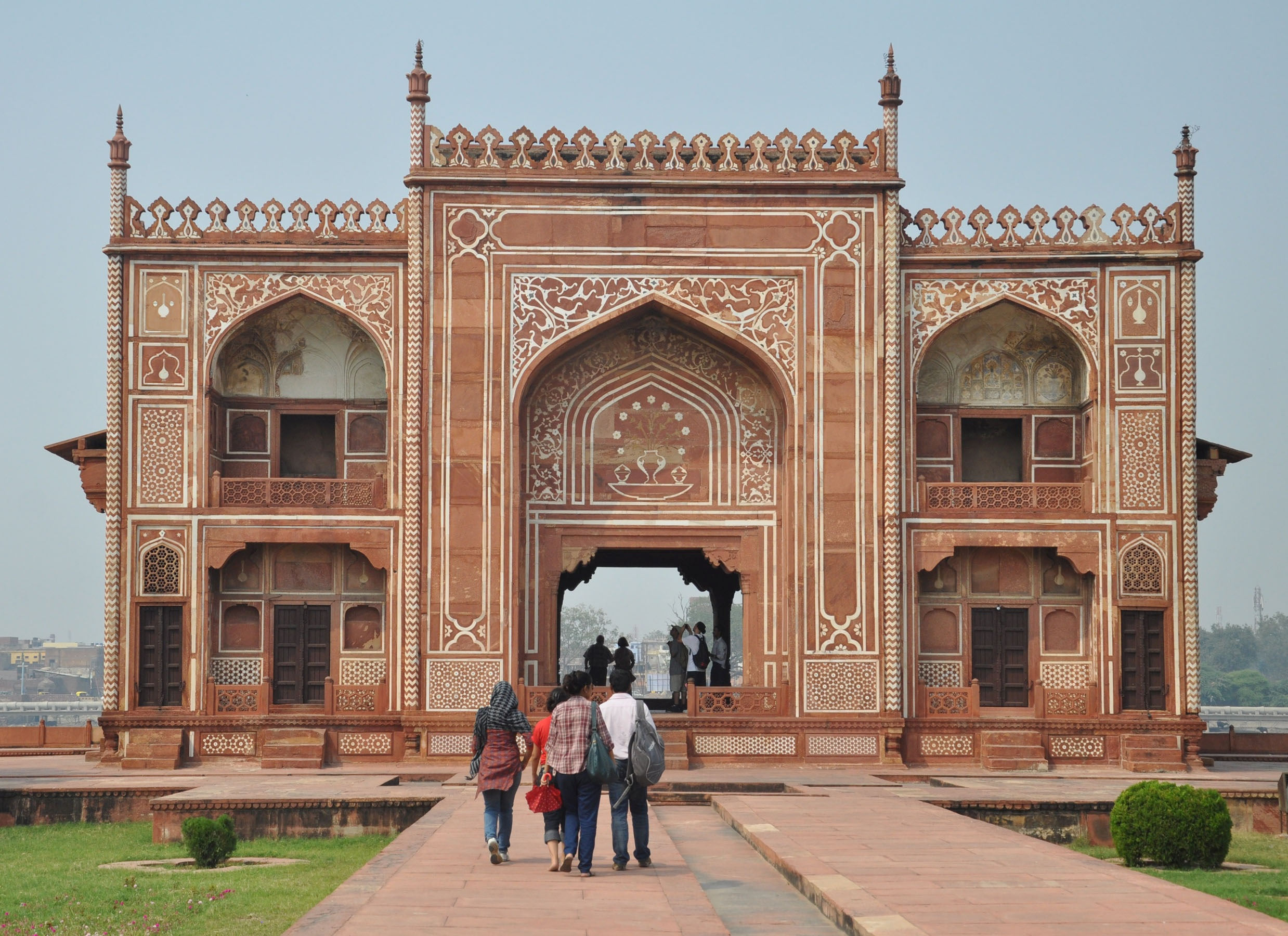 Pleasure pavilion by the riverside, Tomb of Itimad-ud-Daulah, Agra