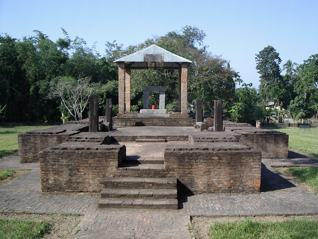 The stone temple at Parbatiya,Dah parbatiya,Tezpur,Sonitpur,Assam...