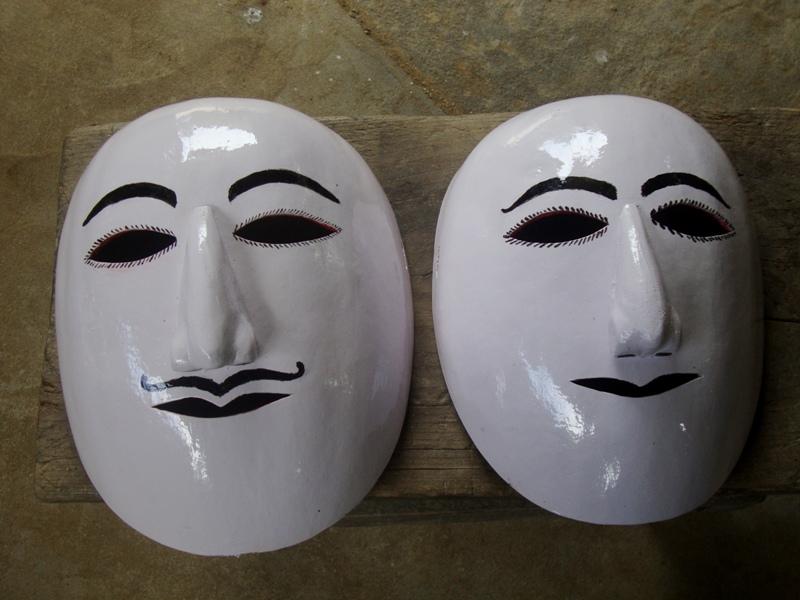 ASSAM MASKS Assam Handicrafts