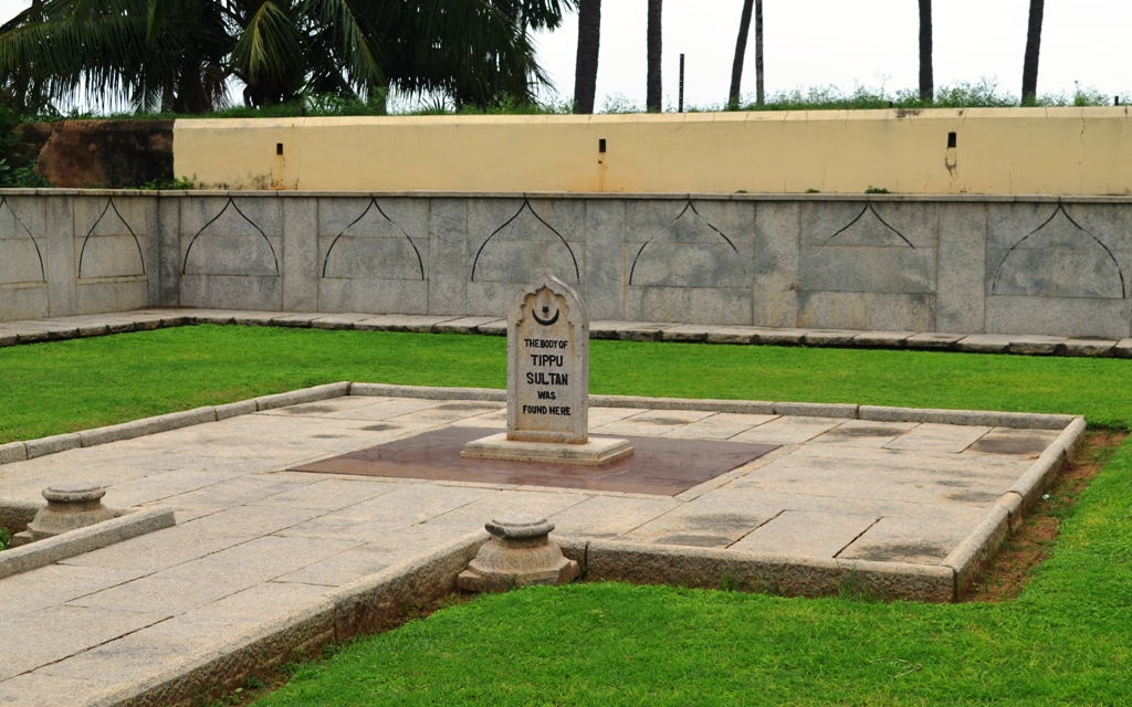 the body of tipu sultan found here