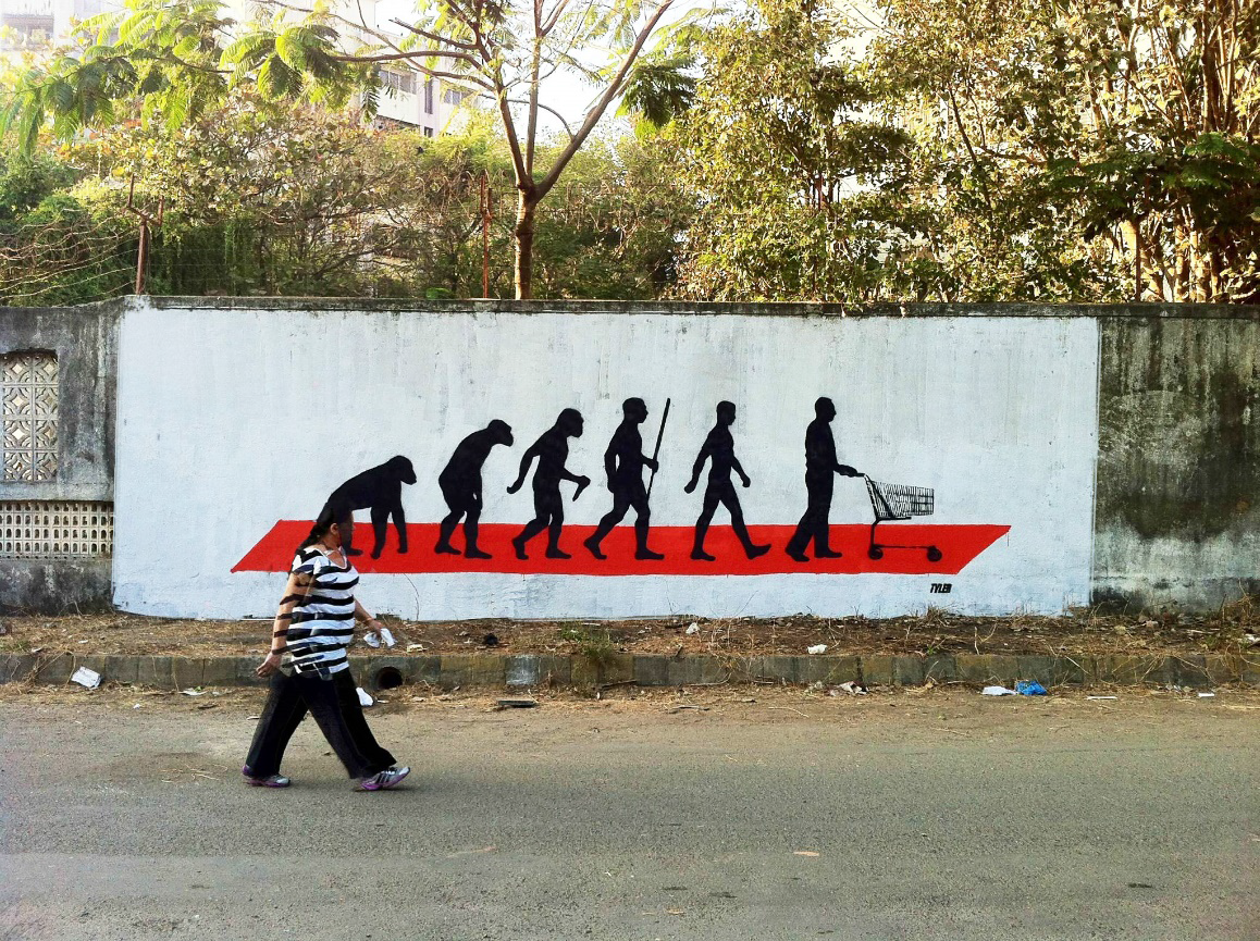 """All the Street Is a Stage"" Examining Urban Street Art in India"