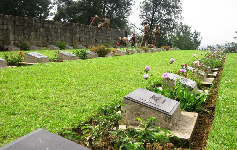 Kohima War Cemetery: The Battle Under the Cherry Tree