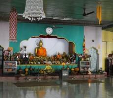 Inside the Buddha Vihara