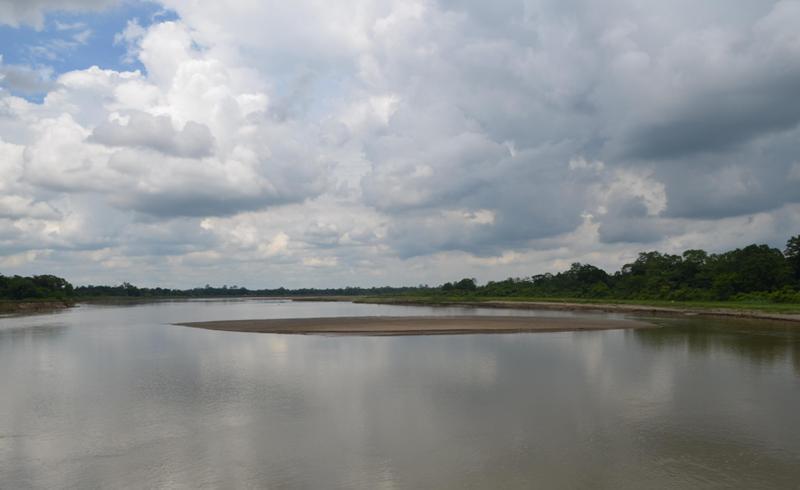 The Burhidihing river