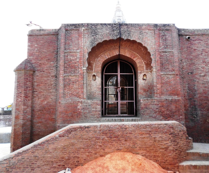Side View of the Kalayat Brick temple